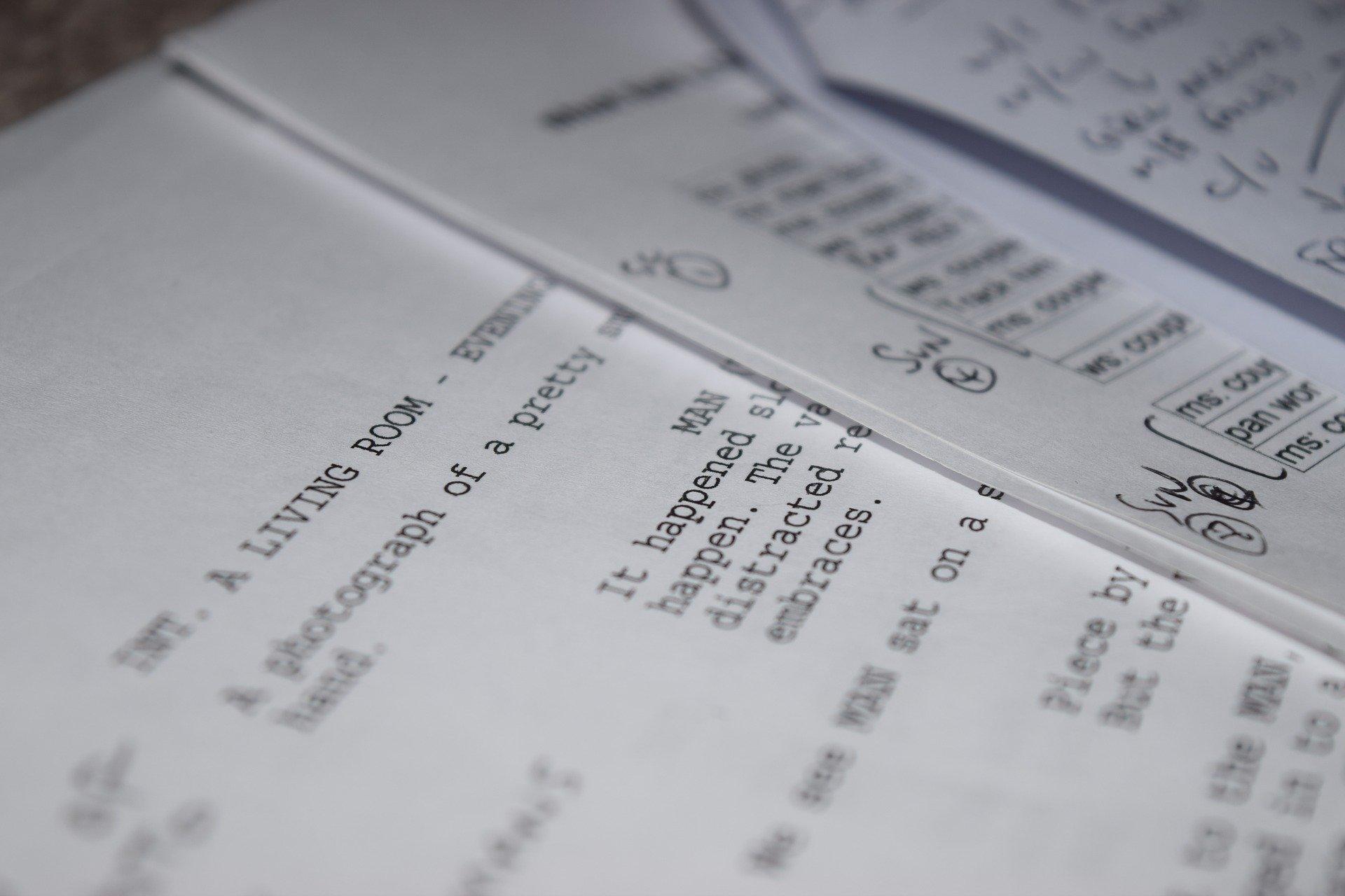 Screenplay Film Maker Filmmaking Film Industry